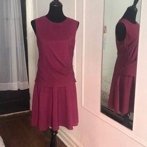 Stunning burgundy Day to Night Donna Morgan dress